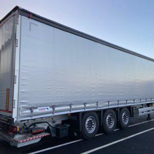 Schmitz Cargobull - Rideaux Coulissants - Avec Hayon