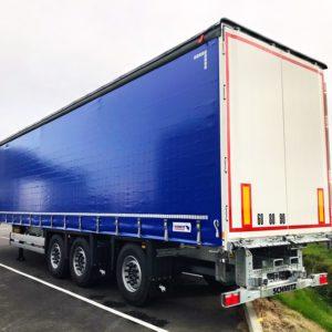 Schmitz Cargobull - Rideaux Coulissants - Chariot Embarqué