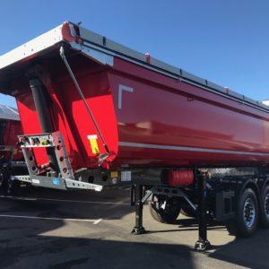 Schmitz Cargobull - Benne Tp Acier - 25m3 Portes Univ