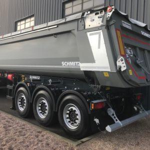 Schmitz Cargobull - Benne Tp Acier - 25 M3 Porte Hydraulique