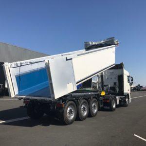 Schmitz Cargobull - Benne Tp Aluminium - Revêtement Anti Colmatant