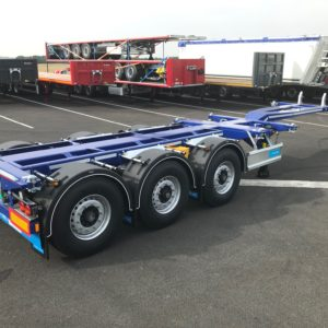Dtec - Porte Containers Flexitrailer - Multipositions