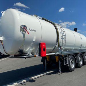 D-TEC - Citerne 31,3m3 pour lisier, digestat, lixiviat, effluents liquides - Neuve