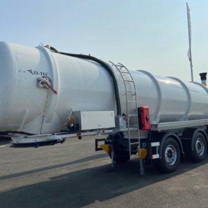 D-TEC - Citerne essieux directionnels 29,5m3 - pour lisier, digestat, lixiviat, effluents liquides