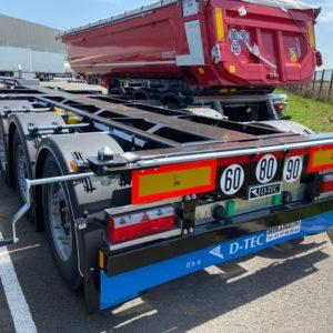 D-TEC - Porte Container - NEUF